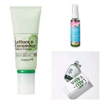 Various Choice of Skin Care Products with Vegetable Content that Healthy the Skin