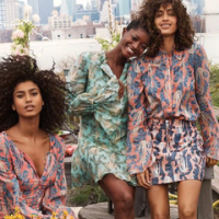 H&M Fashion Collection Made of Orange and Pineapple Leaves